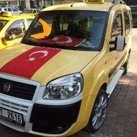 Photo taken at Sarıyar Taksi by Mehmet A. on 8/21/2015