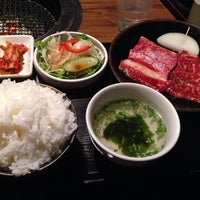 Photo taken at 炭火焼肉 いがいガ by Ryuichi S. on 10/21/2014
