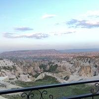 4/13/2018 tarihinde Mertziyaretçi tarafından Kapadokya Panorama Teras Kafe'de çekilen fotoğraf