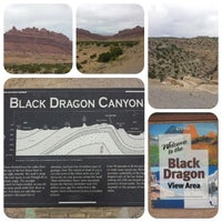 Photo taken at Black Dragon Canyon View Area by Victor B. on 6/27/2014