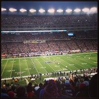 Photo taken at Putnam Club - Gillette Stadium by Thomas B. on 1/13/2013