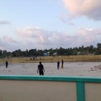 Photo taken at Cricket Stadium by ALI R. on 2/19/2014