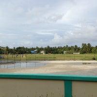 Photo taken at Cricket Stadium by ALI R. on 11/12/2013