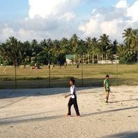 Photo taken at Cricket Stadium by ALI R. on 2/1/2014