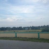 Photo taken at Cricket Stadium by ALI R. on 1/28/2014