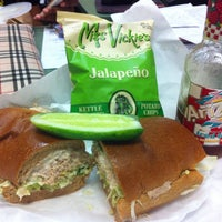 Photo taken at Football Sandwich Shop by Dor L. B. on 8/2/2013