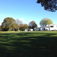 Photo taken at Wolverley Camping and Caravanning Club Site by Susan W. on 10/30/2013