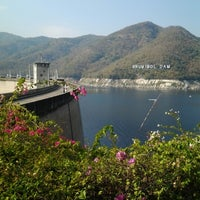 Photo taken at Bhumibol Dam by Arty A. on 1/19/2013