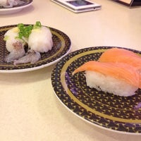 Photo taken at Hamazushi by かぶき12 on 5/20/2014