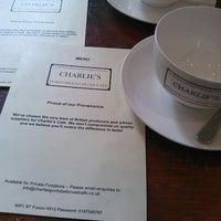 Photo taken at Charlie's Café by Onur S. on 4/21/2013