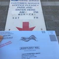 Photo taken at U.S. Post Office John Sanchez Carrier Annex by EJ C. on 10/22/2016