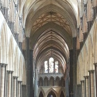 Photo taken at Salisbury Cathedral by Debbie S. on 7/6/2013