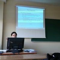 Photo taken at Vilnius Gedimino Technic University by Saban K. on 2/6/2014