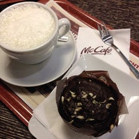 Photo taken at McCafé by Rüya T. on 2/1/2014