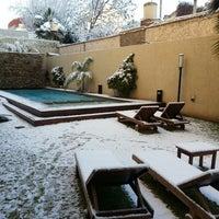 Photo taken at Villaggio Hotel Boutique Mendoza by Marcelo R. on 11/2/2013