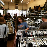 Photo taken at Buffalo Exchange by Mark H. on 2/14/2015