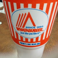 Photo taken at Whataburger by La'Toya F. on 3/8/2013