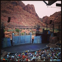 Photo taken at Tuacahn Amphitheater by Scott D. on 7/20/2013