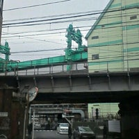 Photo taken at 黒門橋高架橋 by P.F.FrontJr on 11/28/2012