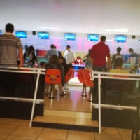 Photo taken at Strike Boliche Bar by Francisco P. on 1/2/2014