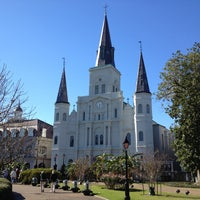 Photo taken at Jackson Square by Andrew H. on 2/1/2013