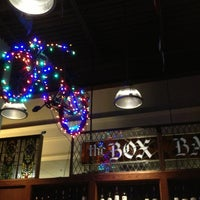 Photo taken at The Box Bar & Grill by Andrew H. on 2/9/2013