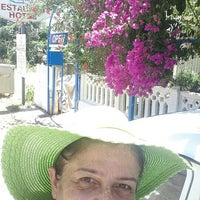 Photo taken at Delfin Hotel by Emine A. on 7/20/2015