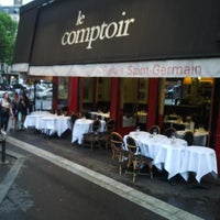 Photo taken at Le Comptoir du Relais by Billy B. on 6/17/2013