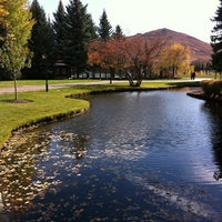 Photo taken at Sun Valley Lodge by Kimmie P. on 10/14/2012