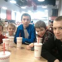 Photo taken at Five Guys by Matthew H. on 1/5/2014