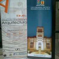 Photo taken at Edificio T - UTFSM by Marta A. on 11/8/2012