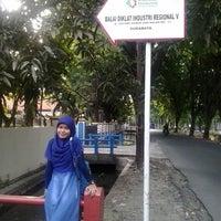 Photo taken at Balai Diklat Industri Surabaya by Gian S. on 11/5/2013