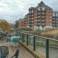 Photo taken at Holiday Inn London - Brentford Lock by Alastair H. on 2/28/2016