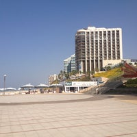 Photo taken at Herzliya Beach by Dovydas D. on 10/29/2013