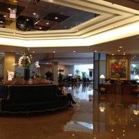 Photo taken at Hilton Shanghai by sachi on 4/20/2013