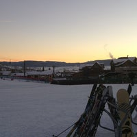 Photo taken at Slopeside Grill by Adam M. on 1/21/2013