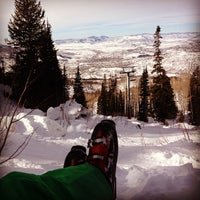 Photo taken at Pony Express Chairlift by Adam M. on 1/20/2013