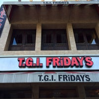 Photo taken at TGI Fridays by Denys T. on 10/8/2013