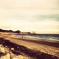 Photo taken at Platja del Miracle by Rosa C. on 1/31/2013