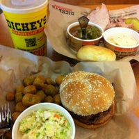 Photo taken at Dickey's Barbecue Pit by Nana on 4/13/2013