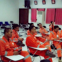 Photo taken at Total Handil II Base by Robby on 10/24/2013