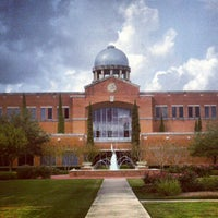 Photo taken at Houston Baptist University by @jvincephoto on 11/3/2012