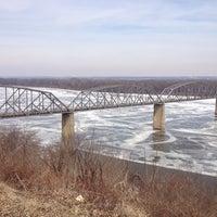 Photo taken at Mississippi River by Bart L. on 3/5/2014