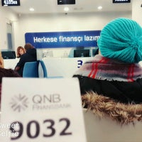 Photo taken at QNB Finansbank by Canan T. on 1/27/2017