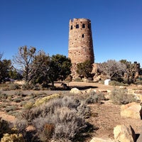 Photo taken at Desert View Watchtower by Denis S. on 11/4/2013