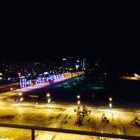Снимок сделан в Триумф Отель / Triumph Hotel пользователем Nina O. 2/2/2014