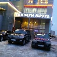 Снимок сделан в Триумф Отель / Triumph Hotel пользователем Aleksey L. 12/30/2016