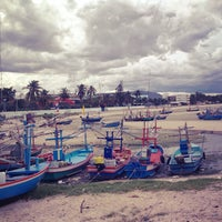 Photo taken at Hua Hin Fishing Pier by Cristina R. on 5/19/2013