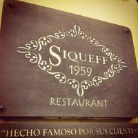 Photo taken at Siqueff by eduardo p. on 5/11/2013