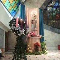 Photo taken at San Ildefonso Parish by Robert R. on 12/2/2012